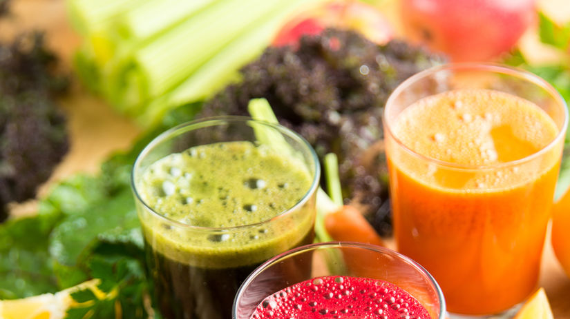 ovocie, zelenina, šťava