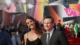 Sofia Skya a jej americký kolega Christian Slater