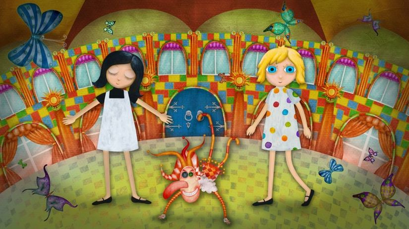kerekesova Mimi a Líza