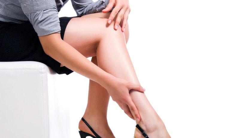 nohy, opuchy, kŕčové žily