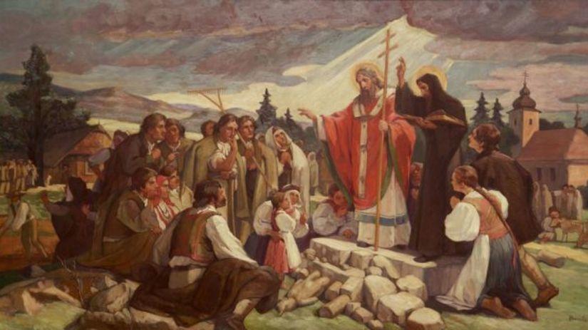 Sv. Cyril a Metod, Jozef Hanula, 1936