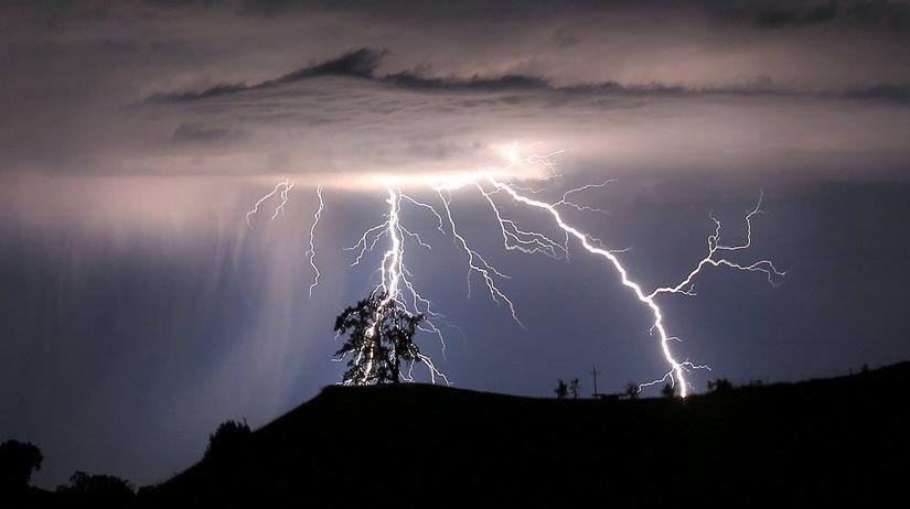 blesk, búrka