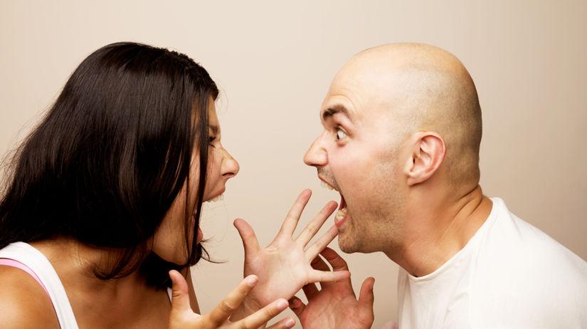 hádka, rozchod, rozvod