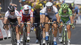Marcel Kittel, Peter Sagan, Tour de France