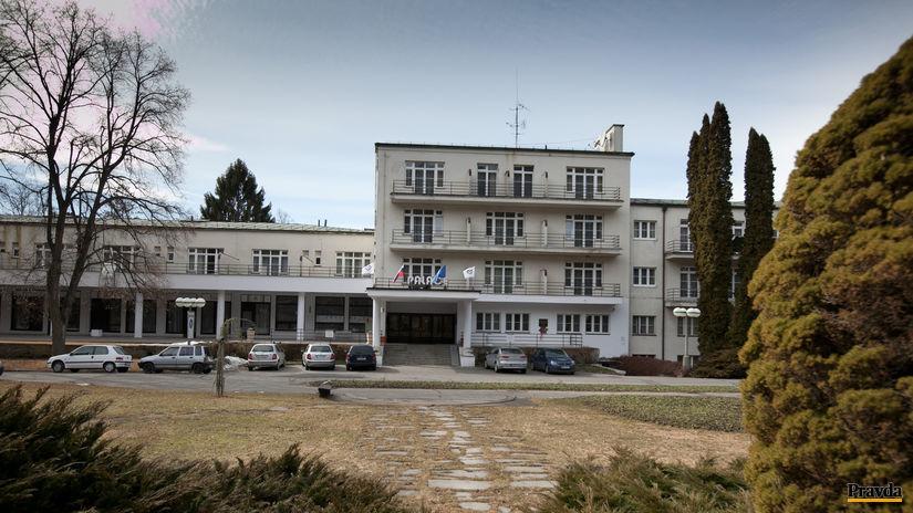 Kúpele Sliač, Palace