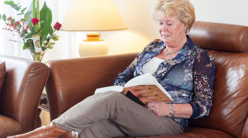 čítanie v starobe - cibrenie mozgu v staršom veku