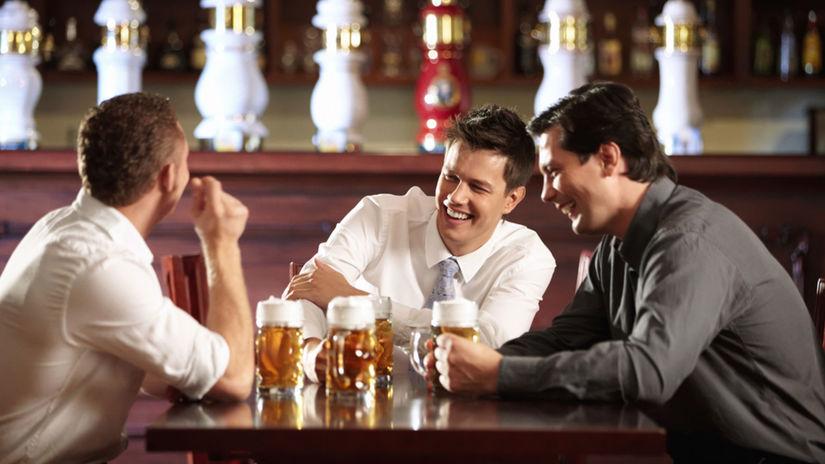 pivo, kamaráti, krčma, stretnutie