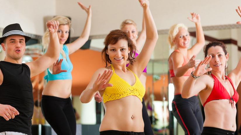 tanec, fitnes, pohyb, zdravie
