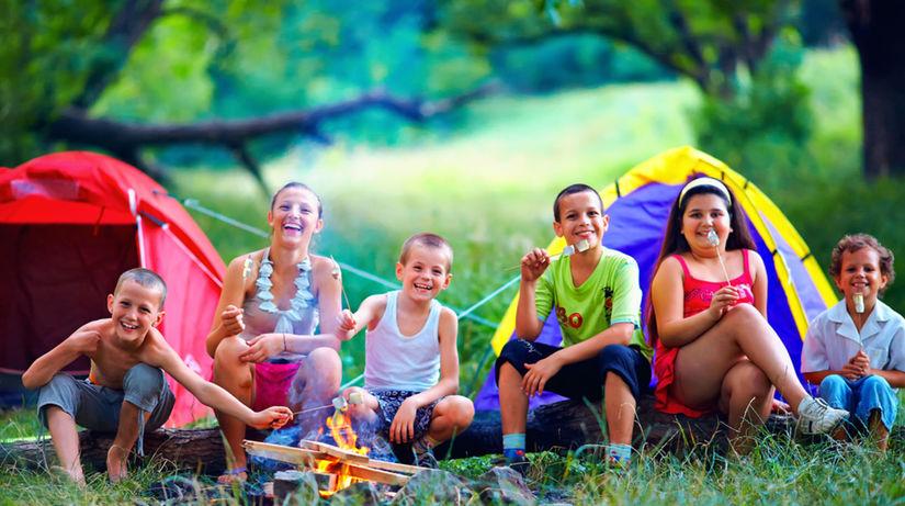 letný tábor, prázdniny, voľný čas