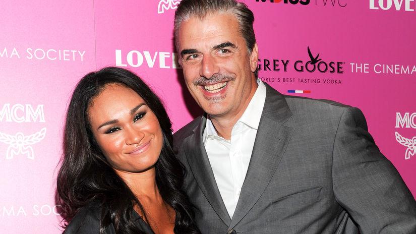 Chris Noth a jeho manželka Tara Wilson