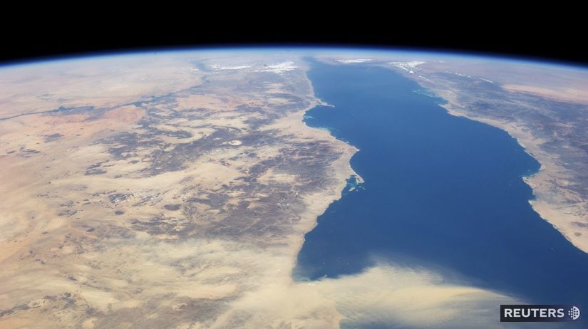 Egypt, Červené more, vesmír