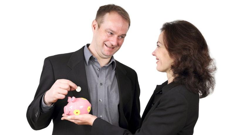 peniaze, sporenie, maželia, rozvod, vklad