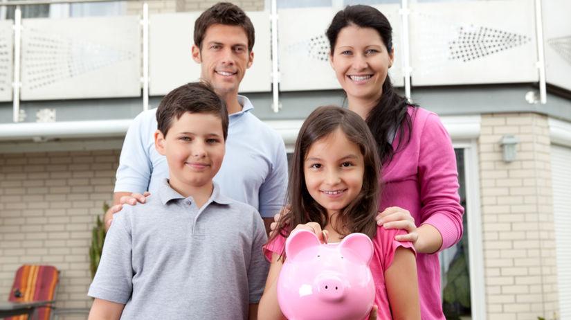 rodinné financie, rodina, sporenie, hospodárenie