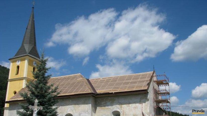 kostol, Nižný Slavkov