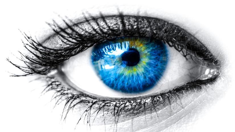 oko, oči, rohovka, dúhovka, zrak