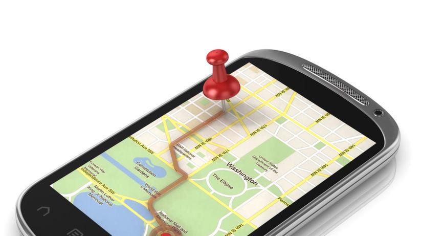lokalizovanie telefónu, mapy, navigácia, mobil,...