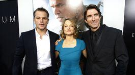 Matt Damon, Jodie Foster a Sharlto Copley