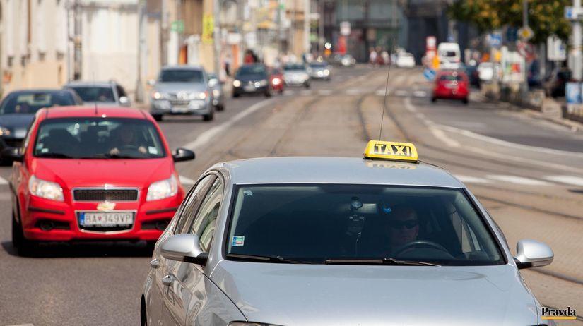 taxík, taxislužba, autá