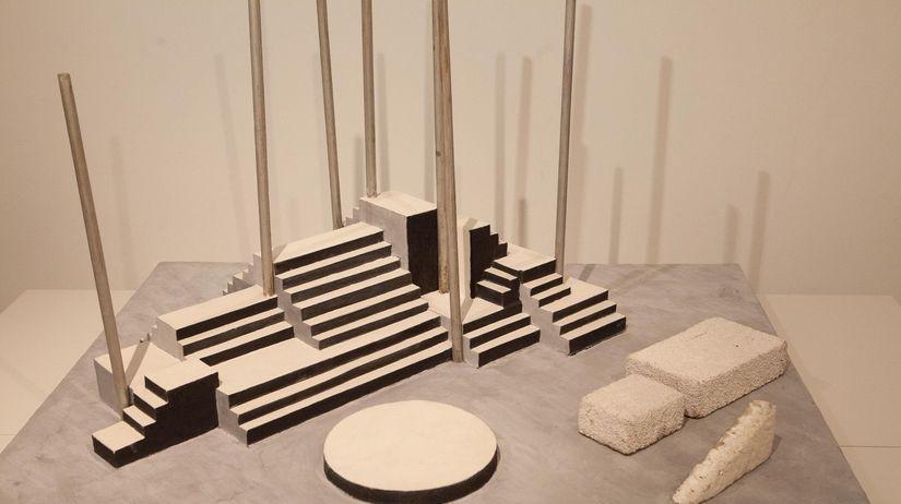 František Tröster: Architektonický model k...