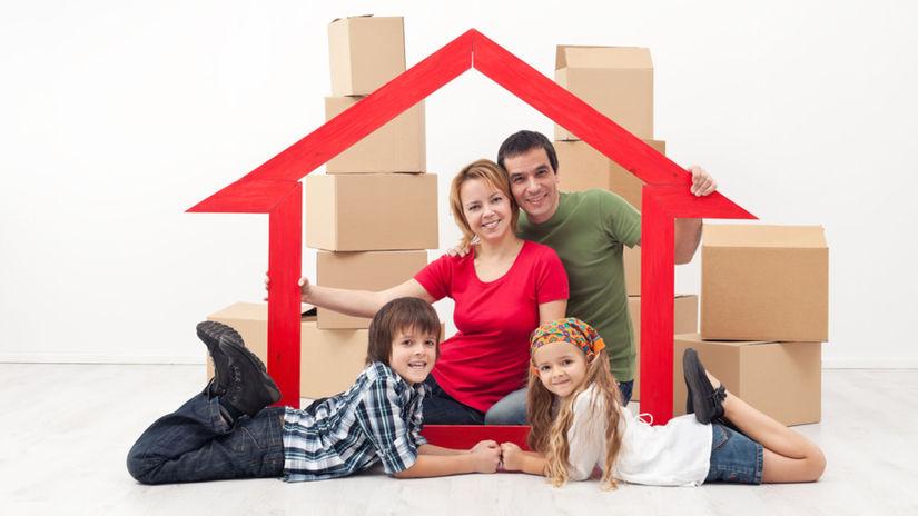 hypotéka, stavebné, sporenie, prenájom