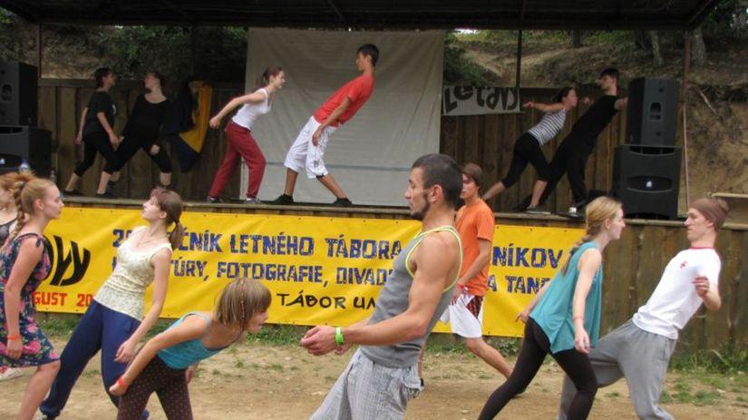 Letavy, tábor, tanec