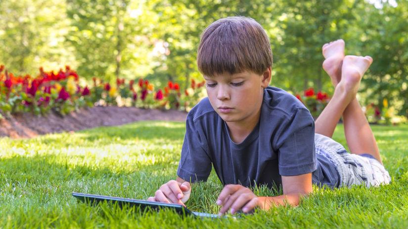 dieťa, chlapec, voľný čas, počítač