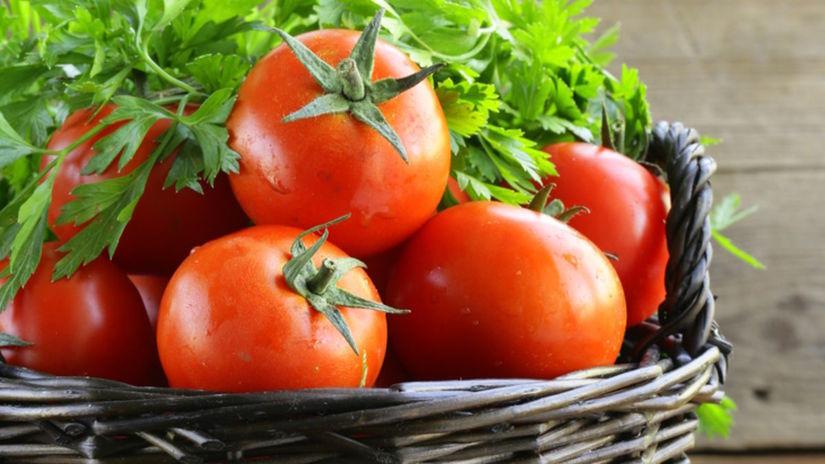 zelenina, paradajky