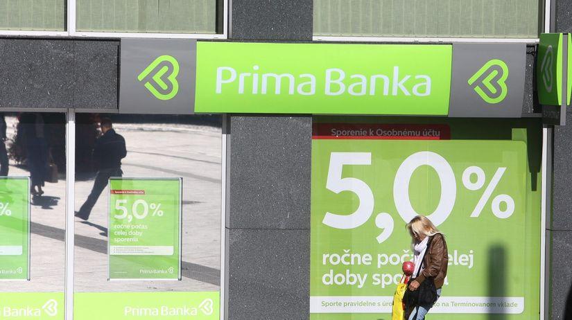 banka, prima banka, percento, úrok