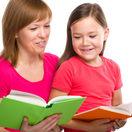 čítanie, učenie, školské povinnosti