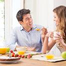 raňajky s priateľom, raňajky, romantické raňajky