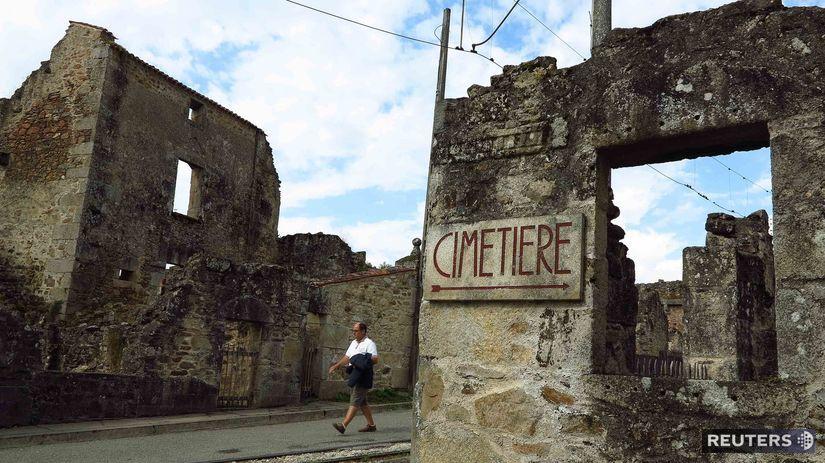 Oradour-sur-Glane, Francúzsko, Nemci, 2....