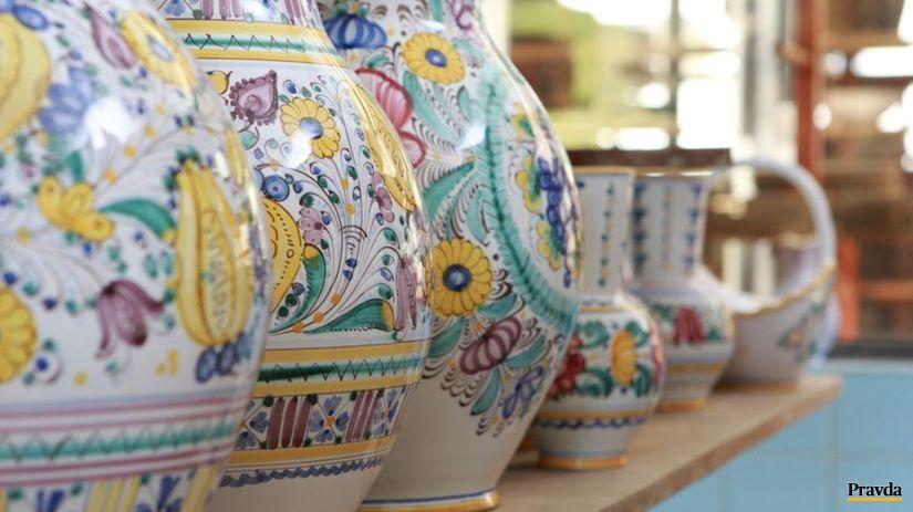 Majolika,Modra,keramika