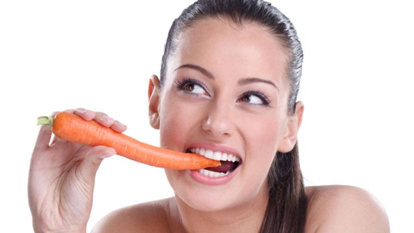 oči, výživa, zelenina, mrkva