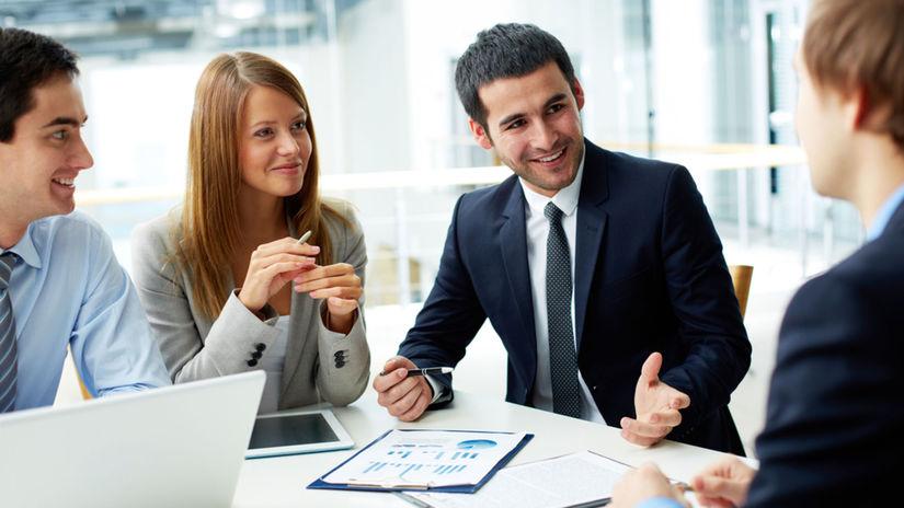 práca, pracovné stretnutie, pracovný tím
