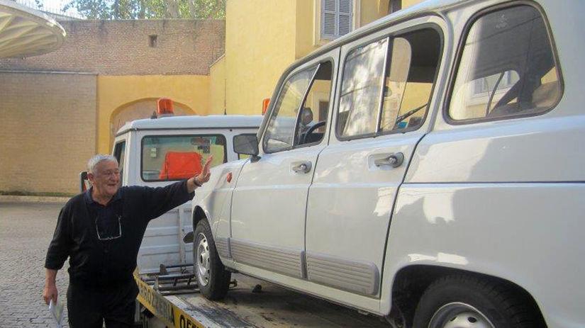 pápež, auto