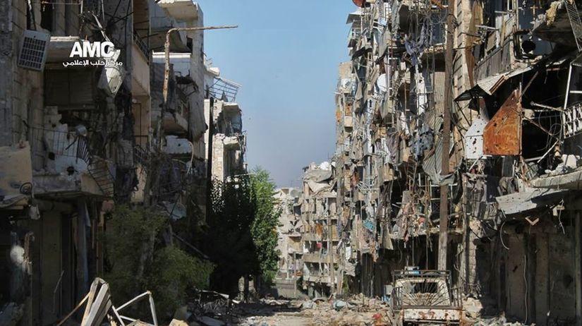 Aleppo, Sýria, boja, povstalci, Asad