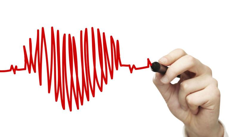 srdce, tep, frekvencia, ekg, krivka