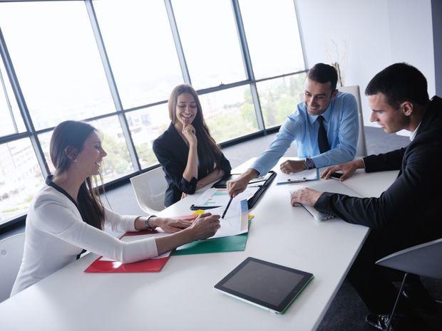práca, tím, zamestnanie, kolegovia