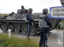 Rakúsko, armáda, dráma, streľba, pytliak