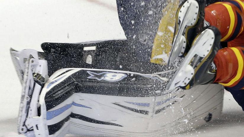 Ilustračná snímka, hokej