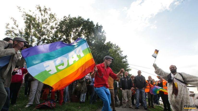Dúhový pride 2013, pochod
