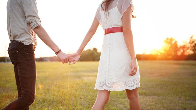 láska, vzťah, romantika, prechádzka