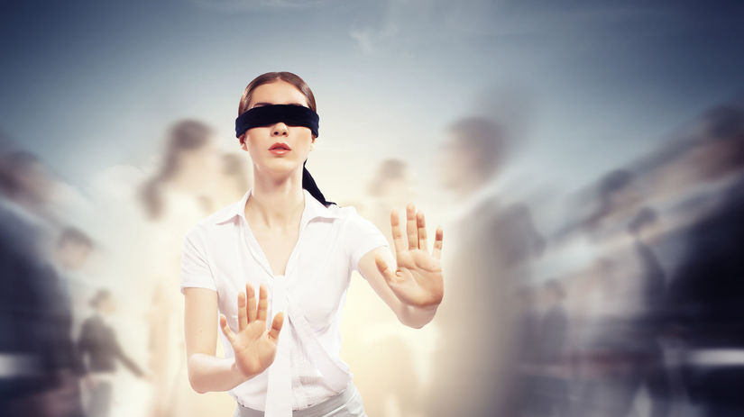 oči, zrak, slepota, nevidiaci