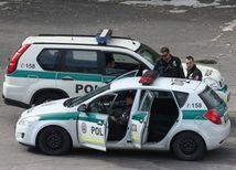policajné autá