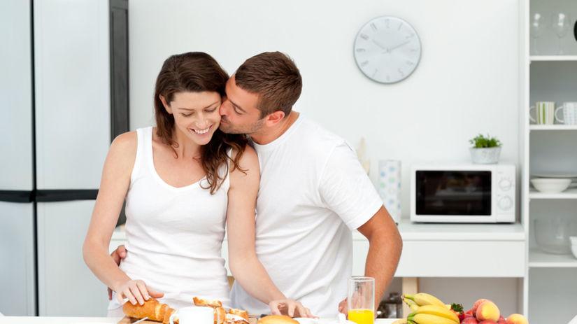 bozk, ráno, raňajky, vzťah, láska