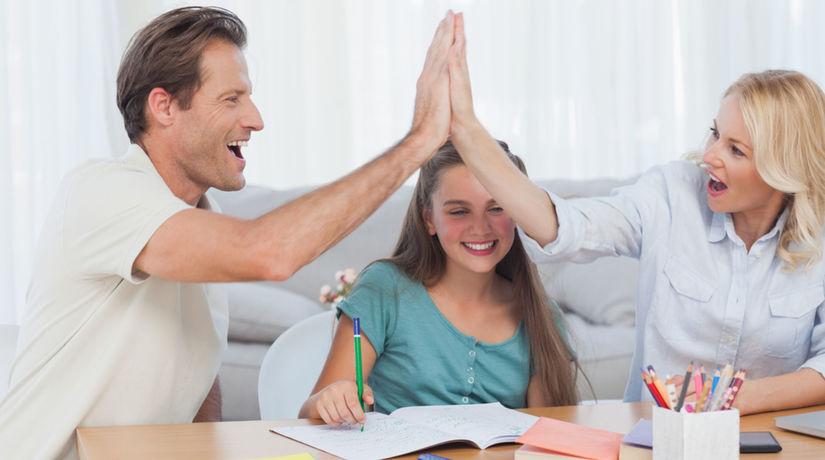 pochvala, výchova, rodina