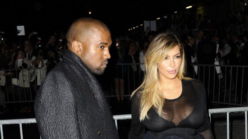 Givenchy - jar-leto 2014 - Paríž - Kanye West a...