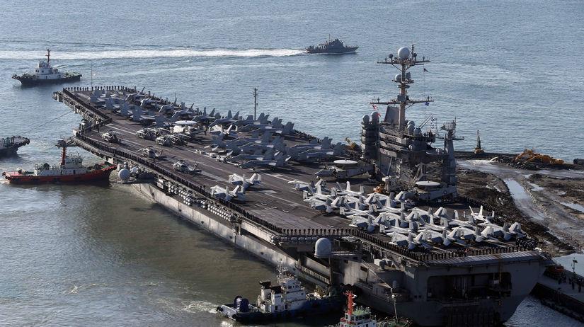 lietadlová loď, loď, USS George Washington,...