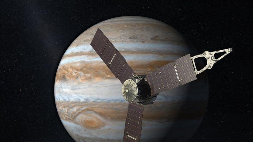 Juno, sonda, vesmír, Jupiter