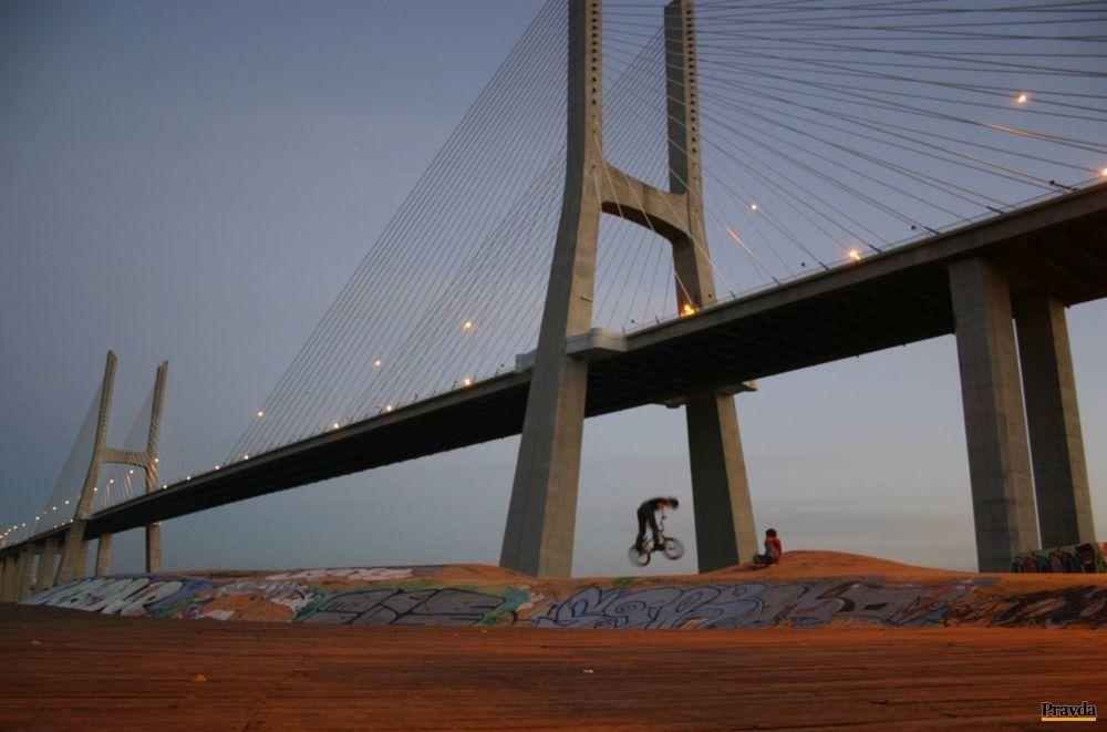 most Vasca da Gamu, Lisabon
